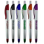 24051 - Benson Stylus Silver Barrel Pen