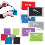 Logo microfiber cleaning cloth