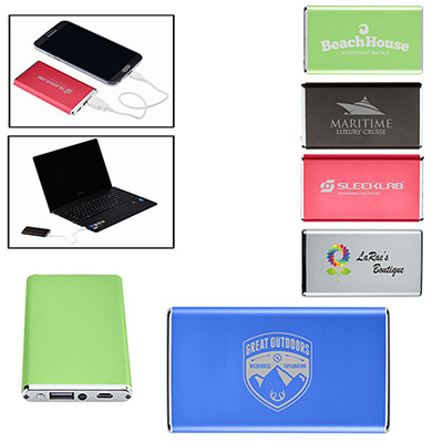 Promotional ultra-slim power bank charger - Promo Direct
