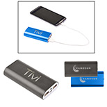 Promotional metal power bank charger with mega capacity