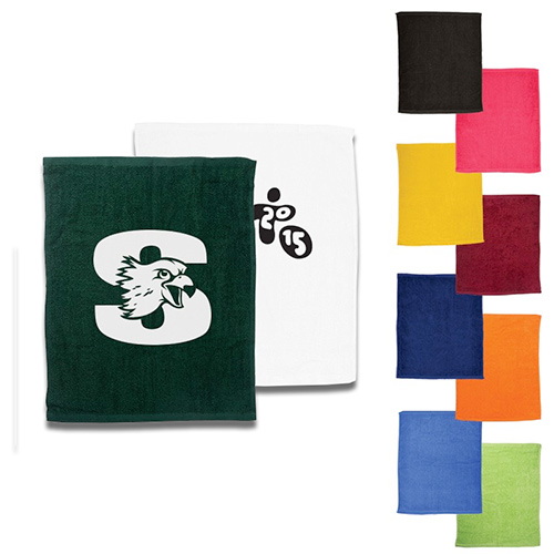 budget rally towel (15x18)  - colors