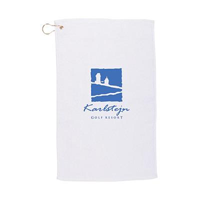 budget golf towel (14x22) - white