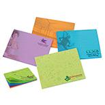 Customized BIC adhesive notepad