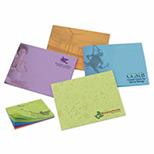 Imprinted BIC adhesive notepad