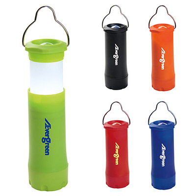camping hanging lantern with flashlight