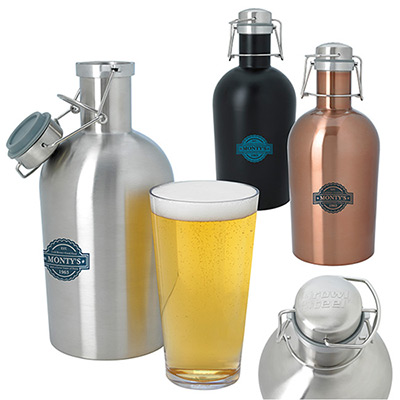 64 oz. Stainless Growler