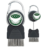 24197 - Golf Club Brush With Ball Marker
