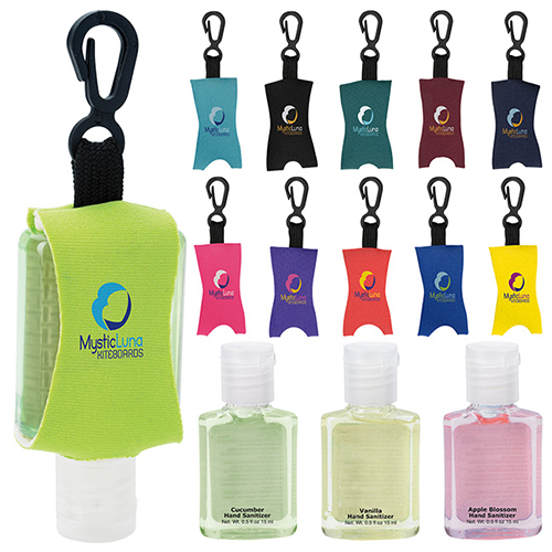 .5 oz Hand Sanitizer With Leash - Scented