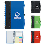 "24216 - 5"" x 7"" Ruler Notebook with Flags and Pen"
