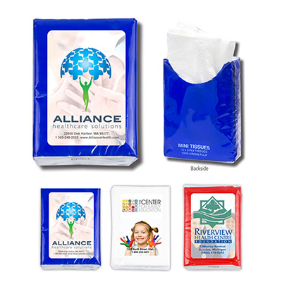 Mini Tissue Travel Pack