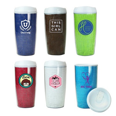16 oz. Raffia Tumbler (Full Color)