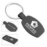 Logo Roma Laser Engraved Metal Key Holder