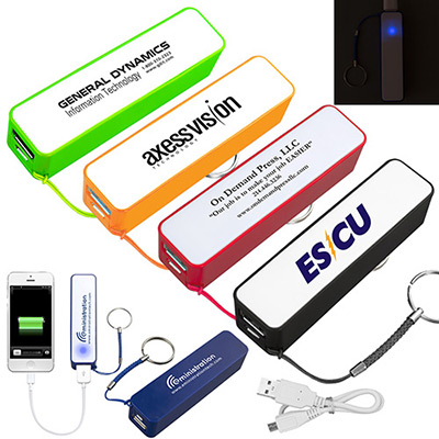 2200 mAh Portable Power Bank Charger