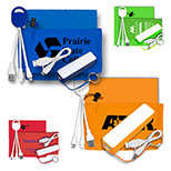 Promotional Mobile Tech Power Bank Accessory Kit