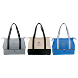 24382 - 16 oz. Cotton Weekender Tote