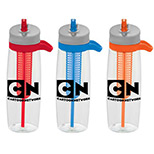 Promotional fruit infuser bottle