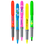 Custom Highlighters - Promotional Bic Brite Liner Grip, Business Gifts Online