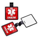Customized Square Stethoscope ID Tag