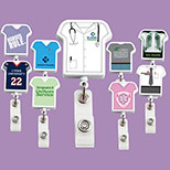 Customized Uniform Badge Reel