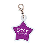 Custom Star Badge Charm