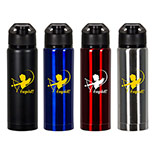 Personalized Vacuum Dual Lid Stainless Tumbler