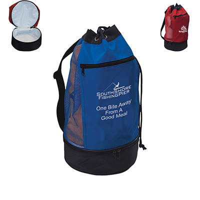 Beach Bag With Insulated Compartment