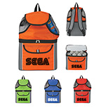 Logo All-In-One Insulated Beach Backpack