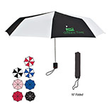 Imprinted Super-Mini Telescopic Folding Umbrella