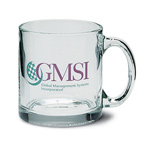 Imprinted Mugs - 13 oz. Glass Mug, Personalized Glass Items