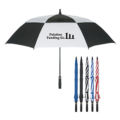 58 arc vented windproof umbrella