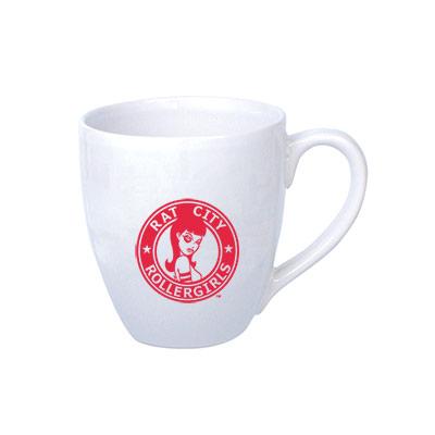 14 oz. bistro mug (white)