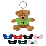 Personalized Mini Bear Key Chain