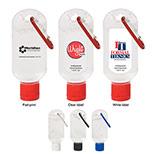 Custom Hand Sanitizer With Carabiner