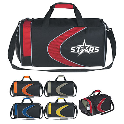 Sports Duffel Bag (Embroidery)