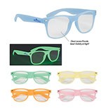 Promotional glow in the dark glasses frames
