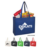 Promotional Matte Laminated Non-Woven Shopper Tote