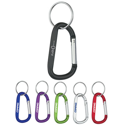 6mm Carabiner With Split Ring