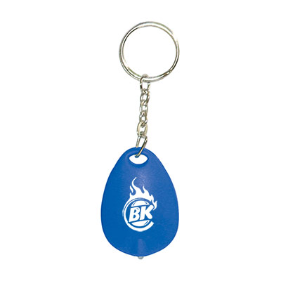 tear drop mini light key tag