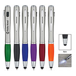 24891 - Trio Pen With LED Light And Stylus