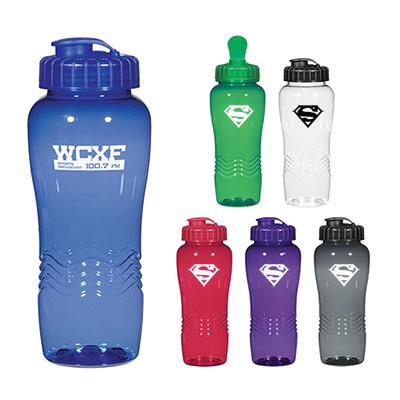 Poly-Clean™ 26 Oz. Wave Bottle