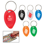 Customized Lottery Scratcher Key Chain