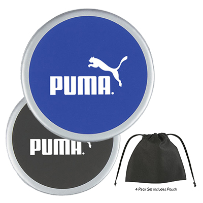 4-Pack Coaster With Bag