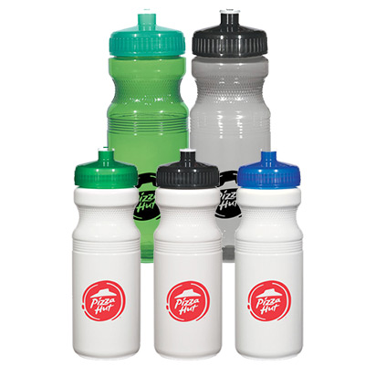 poly-clear 24 oz. fitness bottle