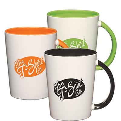 12 oz. colored capri mug