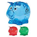 Promotional Plastic Piggy Bank