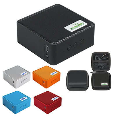 square wireless speaker