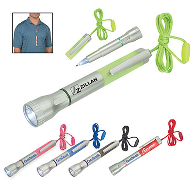 25006 - Flashlight With Light-Up Pen