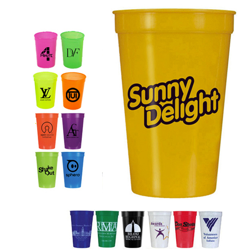 17 oz. Smooth Stadium Cups