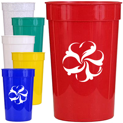 22 oz. Smooth Stadium Cups
