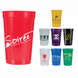 Custom Paper Cups - 22 oz. Smooth Stadium Cups